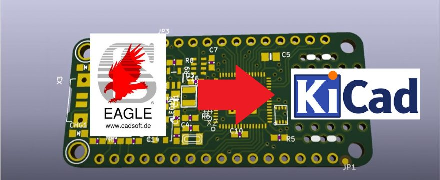 Importing Eagle files into KiCad 5.1