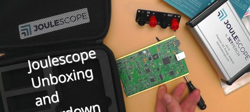 Joulescope Unboxing and Teardown